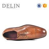 2018 деловом стиле Нескользкие мужчин кожаную обувь