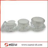 Cosmetic Diamond Shape Acrylic Cream Gravel bank