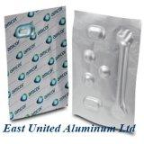 В блистерной упаковке Lidding сетку в алюминиевую фольгу для фармацевтической упаковки