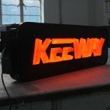 가벼운 상자 표시를 형성하는 아크릴 형성된 점화 LED 진공