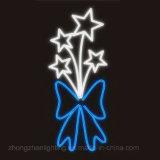 LED-Stern-Licht, LED-Stern-Motiv-Licht für die Weihnachtsstraße dekorativ