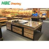 Qualitäts-Supermarkt-Metallbodenbelag-Obst- und GemüseBildschirmanzeige-Regal