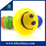 I giocattoli variopinti dell'unità di elaborazione di figura della stampa su ordinazione di marchio comerciano la sfera all'ingrosso di gomma di sforzo