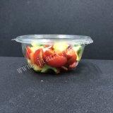 Bol à salade en plastique jetables avec couvercle