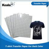 Inyección de tinta Premium Camiseta oscura Papel transfer para camisetas de algodón de color oscuro