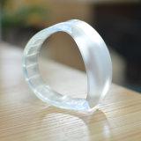Personalizzato per gli stili differenti resi personali braccialetto incoraggianti d'ardore del silicone dei ventilatori