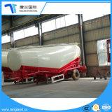 Forma de V cámara única transportista de cemento en polvo a granel remolque cisterna
