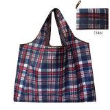 Saco de Arrumação dobrável, One-Shoulder Portable grande saco verde espessadas, Sacola de Compras de supermercado de grande capacidade