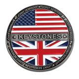 Fabricant logo 3D personnalisé souvenir en alliage de zinc Or Antique Metal Stamping défi militaire de souvenirs des pièces de monnaie pour cadeau promotionnel