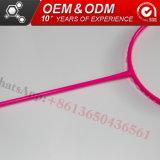 Profesional fabricante de fibra de carbono con raquetas de bádminton de Artículos Deportivos