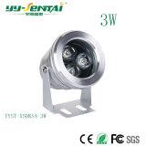 precio de fábrica de alta calidad impermeable Foco LED 3W
