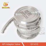 """Aço inoxidável 4"""" da válvula do adaptador de API para camião cisterna"""