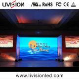 Quadro comandi dell'interno del LED dell'affitto di alta precisione P3.91 per gli eventi