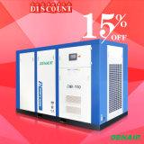 2018 Venta caliente!!!/tecnología alemana/Ahorrar energía el 40%/Control remoto y alta eficiencia 0.5-505.5-355/kw/m3 El ahorro de energía impulsada directa Tipo de compresor de aire de tornillo rotativo