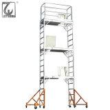 steiger van het Systeem van de Toren van het Aluminium van de Steiger van de Markt van 8m de Hoge Ghana