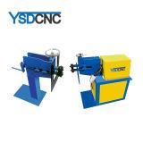 Indústria de ventilação do duto de ronda automática máquina de ranhurar