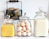 Küche-Gebrauch-grosses Glasspeicher-Glas