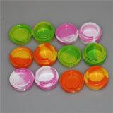 Silicona de grado alimentario Non-Stick contenedores DAB cera silicona silicona Contenedor de almacenamiento de JAR