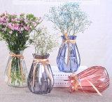 De mini Vaas van het Glas van het Platteland voor de Decoratie van het Tafelblad van het Huis