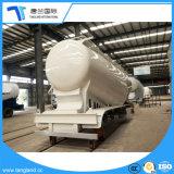 3개의 차축 물자 시멘트 대량 운반대 트레일러 유조선 42 톤 분말
