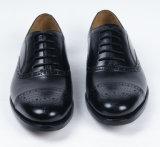 La moda de hombre zapatos de cuero auténtico de negocios