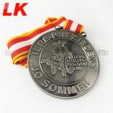 フェスタの名誉の柔らかいエナメルはダイカストメダル謝肉祭メダルを