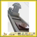 Het natuurlijke Monument/de Grafsteen/de Grafsteen van de Gedenktekens van het Graniet van de Steen Grijze