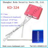 Contenedor de cable de 1,5 mm el sello de cable camión sellos de seguridad (KD-324).