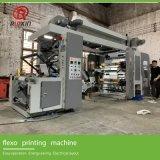 Stampatrice di Flexo dei 4 tamponi di colori/macchina da stampa a gettare