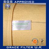Sacchetto industriale di filtro dell'aria del tessuto di filtrazione dell'accumulazione di polvere