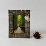 Fsc Pinewood Vintage en bois de coeur minable Photo Frame