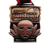Hot Sale Custom Bronze 3D à bon marché de gros Metal Craft Alliage de zinc métal or Marathon Prix Médaille Souvenir comme cadeau de promotion du sport (049)