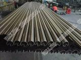 Tubo de acero inoxidable ornamental (304, 316; 316L; 201)