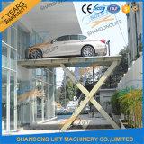 De elektrische AutoLift van de Lift van de Schaar van de Auto aan Privé Huis