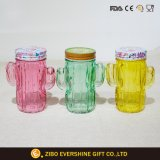 Kaktus-Form-Glasmaurer-Glas Set3