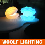 Mais 300 Designs LED Iluminado Luz de Mesa Decorativa LED Sea Conch Shells Light