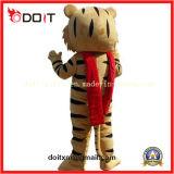 Traje feito-à-medida da mascote dos desenhos animados do tigre para o carnaval