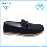 Hot Wholesale Sapatos suaves de couro único para criança