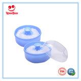 BPA الحرة الطفل البلاستيك مسحوق النفخة الحاويات