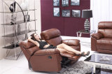 Muebles para el Hogar Sofá reclinable de cuero Modelo 915