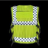 Police r3fléchissante de Hong Kong de gilet de sûreté élevée de visibilité d'Eniso20471certificate