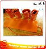 calentador eléctrico flexible del caucho de silicón de 260W 12V 650*50*1.5m m