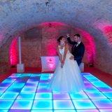 LED tactile de l'aimant de la danse pour les barres de feux de carrelage de sol