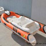 Liya 3,3 m de la vitesse de fibre de verre 11ft Bateau Bateau Sport gonflable