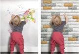 El panel/papel inodoros de la pared de ladrillo del Faux del paraíso de los niños de Japón