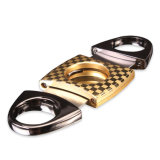 En acier inoxydable unique Luxfo allemand un épaississement Two-Edged Cigar Cutters (ES-LO-001)
