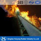 Nastro trasportatore di gomma resistente al fuoco carboniero in sotterraneo