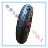 6 - Pneus de borracha pneumáticos da polegada, rodas de alumínio para a roda do bebê, rodas de carro do brinquedo das crianças, etc.