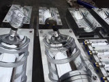 機械製造業者を作る半自動ブロー形成機械びん