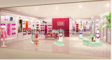 Металлические стойки для женщин нижнее белье зажимное приспособление для магазинов розничной торговли, магазин дизайн